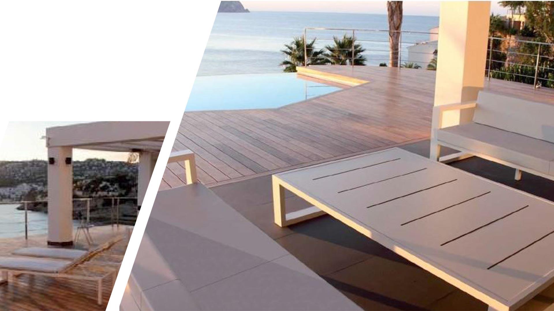 Muebles Terraza Diseño Exclusivo Avantgarde