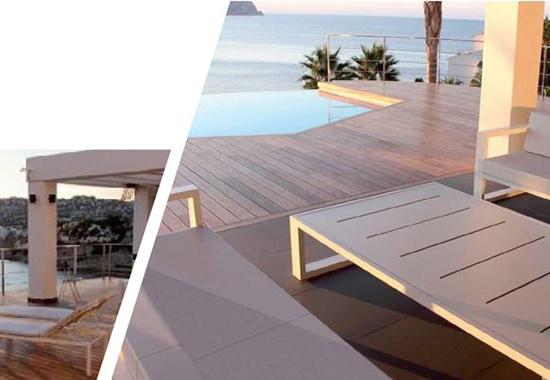 Furniture terrace exclusive design