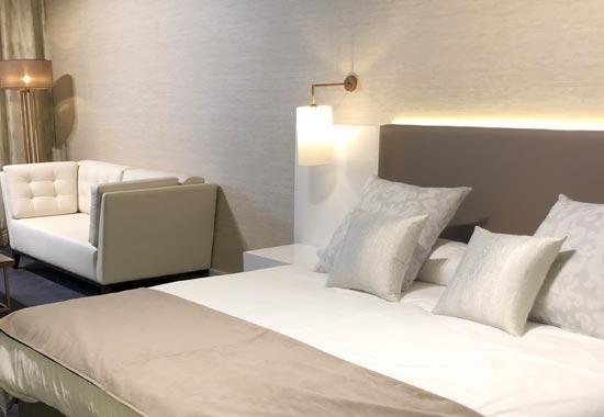 Exclusiva habitación de hotel